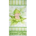 Sweet Pea Baby Shower Tablecover